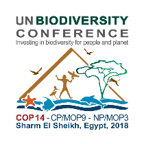 Fourteenth meeting of the Conference of the Parties to the Convention on Biological Diversity Sharm El-Sheikh, Egypt, 17 - 29 November 2018