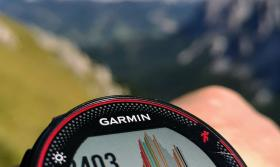 Alps Mountain Stopwatch