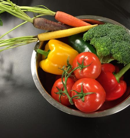 An available variety of nutritious foods is good for human health